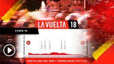 La decimosexta etapa de la Vuelta a España  se celebrará este martes 11 de septiembre.