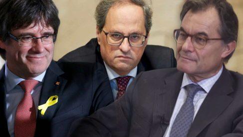 Mas, Puigdemont, Torra