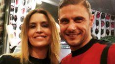 Joaquín y su mujer, Susana Saborido. (Instagram)
