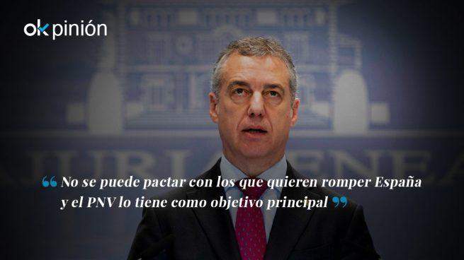 El PNV es enemigo de España