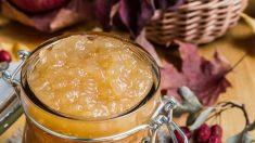 Receta de mantequilla de manzana