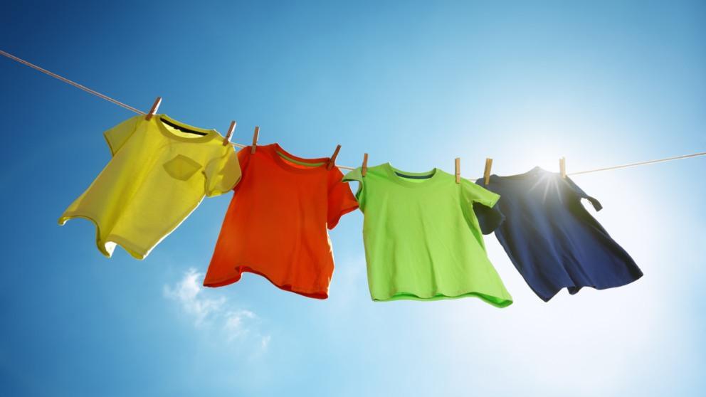 Cómo tender la ropa y que no nos queden marcas