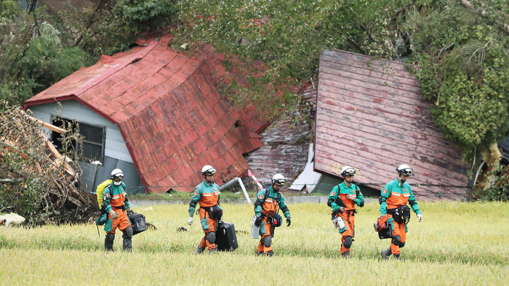 Efectos del terremoto en Hokkaido. (Foto: AFP)