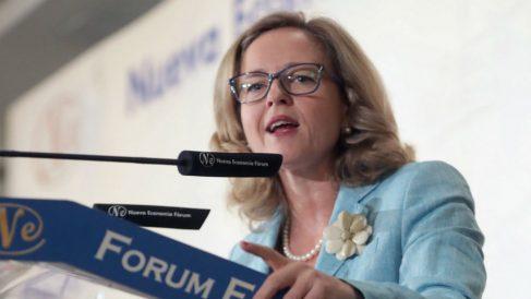 La ministra de Economía, Nadia Calviño (Foto: Efe/Zipi)