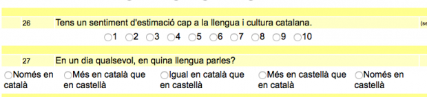 Un instituto balear mide a través de un test el nivel de 'catalanidad' de sus alumnos