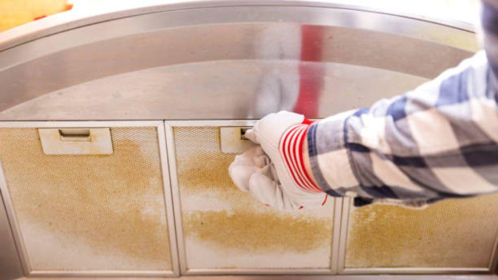 Cómo podemos limpiar los filtros de la campana extractora de manera fácil