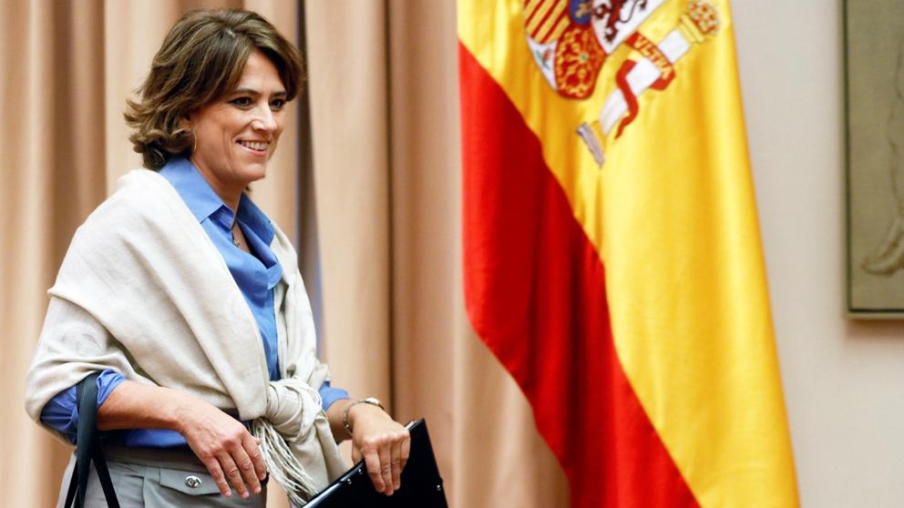 Dolores Delgado, ministra de Justicia. (Foto: EFE) | Última hora de Dolores Delgado
