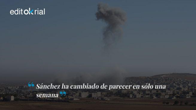 ¿Antes las bombas mataban niños y ahora lanzan flores?