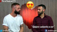 Jorge y Rubén se fueron juntos en 'First Dates'…pero en julio.