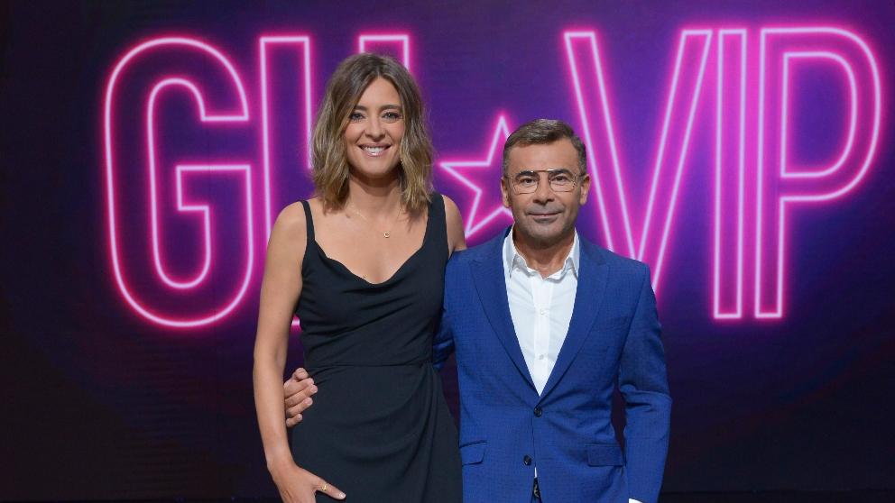 Sandra Barneda y Jorge Javier Vázquez en la presentación de 'GH VIP 2018'. (Foto: Mediaset)