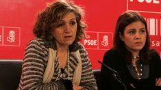 María Luisa Carcedo y Adriana Lastra. (Foto. PSOE)