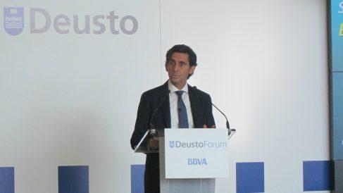 El presidente de Telefónica, Álvarez Pallete