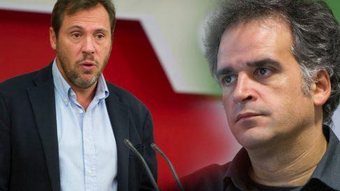 El alcalde Óscar Puente (i) y el agraciado Ignasi Puig Ventosa. Foto: (Flickr PSOE/Conama 2016)
