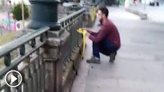 Lazos amarillos en Vigo