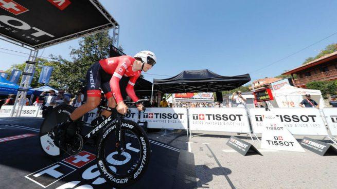 Pinot gana etapa 19 de Vuelta a España pero Yates asegura liderazgo