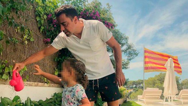 Xavi Hernández pide la libertad de los golpistas en la Diada