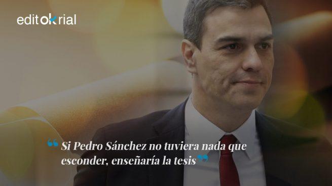 La doctrina Montón obliga a Sánchez a dimitir ya