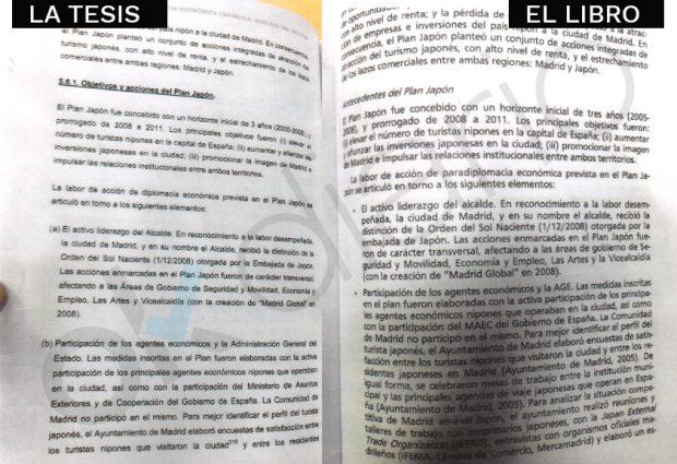 Aquí están las pruebas de que el libro con el 'negro' era la tesis de Pedro Sánchez