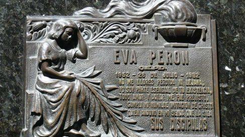 Eva Perón, todo un mito en Argentina