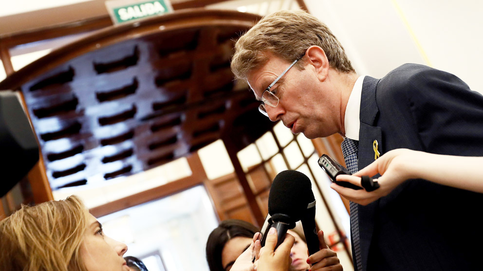 Ferran Bel, diputado del PDeCAT. (Foto: EFE)