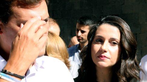 Albert Rivera e Inés Arrimadas. (Foto: E. Falcón)