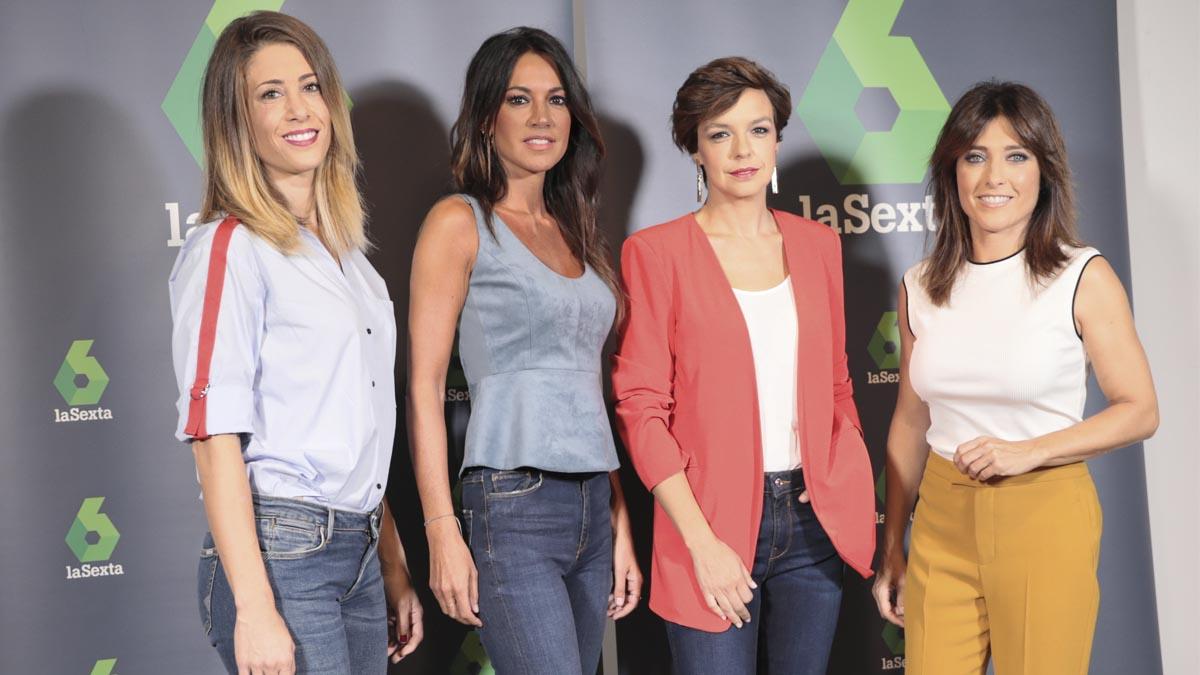 Presentadoras de La Sexta Noticias