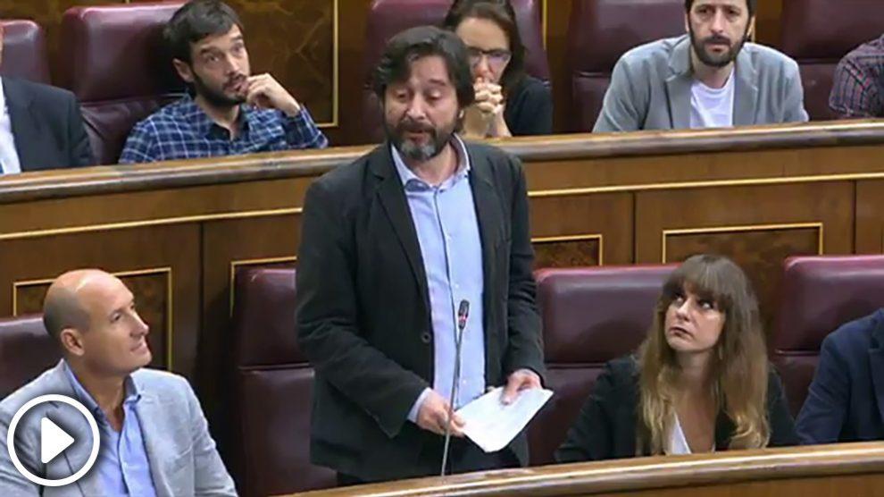 Rafa Mayoral, responsable económico de Podemos
