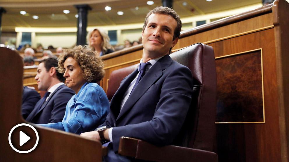Pablo Casado, presidente del PP. (Foto: EFE)
