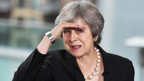 Theresa May, primera ministra del Reino Unido. (Foto: AFP)