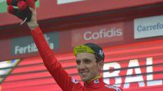 Clasificación tras la etapa 17 de la Vuelta a España. (AFP)