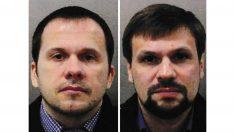 Alexander Petrov y Ruslan Boshirov, sospechosos del intento de asesinato del exespía Skripal. (EP)