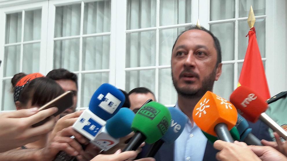 Alfonso Rodríguez Gómez de Celis, delegado del Gobierno en Andalucía. (EP)