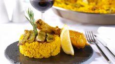 Receta de Arroz en perol típico valenciano fácil de preparar