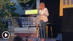 Elsa Artadi durante la celebración de la Diada en Madrid