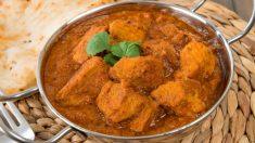 Receta de Cerdo al estilo hindú fácil de preparar