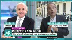 Eduardo Inda y Antonio Miguel Carmona en 'El programa de Ana Rosa'.