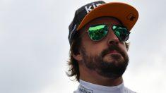 Fernando Alonso, en el Gran Premio de Italia. (AFP)