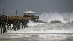 Florence, a punto de llegar a Carolina del Sur (AFP).