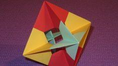 Un octaedro es un poliedro de ocho caras