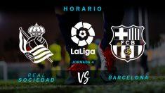 Liga Santander: Real Sociedad – Barcelona| Horario del partido de fútbol de Liga Santander.