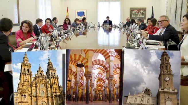 El PSOE no recurrió la inscripción registral de los bienes que quiere expropiar a la Iglesia