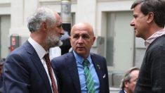 Joaquín Ballesteros junto a Luis Cueto. (Foto. Madrid)