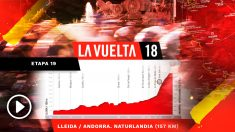 Así será la etapa 19 de la Vuelta a España.