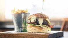 Receta de Mini hamburguesas en salsa roquefort fácil de preparar