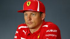 Raikkonen durante la rueda de prensa previa al GP de Singapur. (Getty) | Gran Premio de Singapur de Fórmula 1