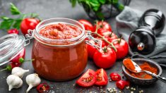 Receta de Dip de tomate y ajo con albahaca fácil de preparar