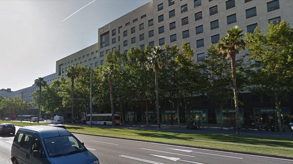 Sede de IBM en Barcelona, en la avenida Diagonal.