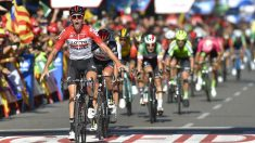 Clasificación tras la etapa 18 de la Vuelta a España hoy, 13 de septiembre. (AFP)