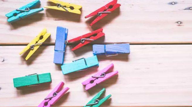 Como Decorar Pinzas De Madera De Forma Original Paso A Paso - Como-decorar-madera