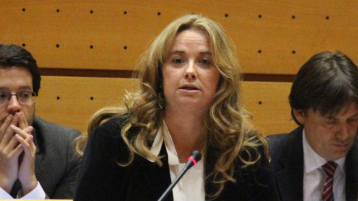 Cristina Ayala, coportavoz del PP en el Senado (PP).